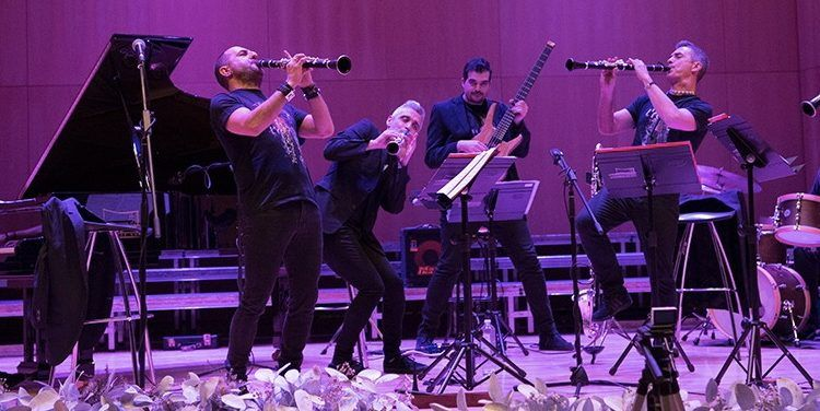 Formación al Completo LRollin Clarinet Band en febrero 2018